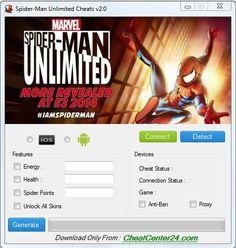 Spider Man Unlimited Cheats