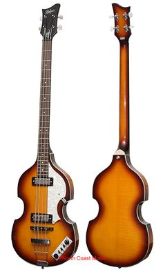 If I ever get a bass, this will be the one, the one and only hofner bass Vintage Bass, Vintage Guitars, Rock N Roll Music, Bass Guitars, Cool Guitar, Paul Mccartney, Musical Instruments, The Beatles, Jazz