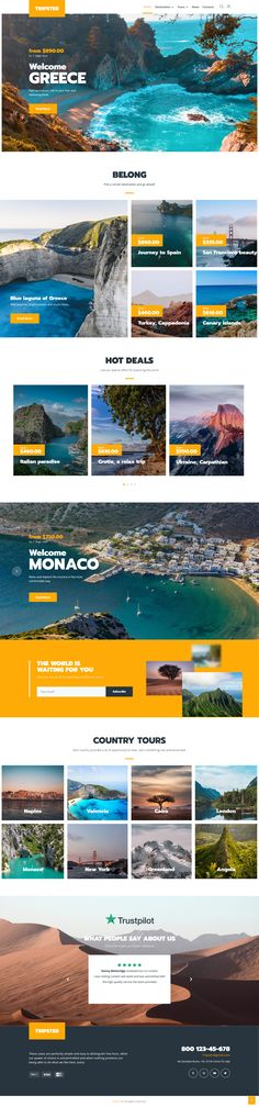 Tripster is a beautifully designed travel agency theme for WordPress websites, that is easy to use and easily editable. You get all the needed pages and functionality for the traveling agency website within this classy WordPress template that's built based on Elementor and Jet plugins. Wordpress Template, Wordpress Theme, Travel Agency, Greece, Tours, Building, Modern, Jet, Traveling