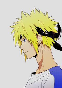 Minato - he looks so much like Naruto!