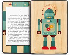 【お取り寄せ】Kindle Paperwhite ケース・カバーよりデザイン豊富!【GELASKINS】Kindle Paperwhite/キンドル ペーパーホワイト  スキンシール【Blue Robot】【YDKG-td】高品質3M製シール使用で剥がしてもベタつかない!【RCP1209mara】【楽天市場】