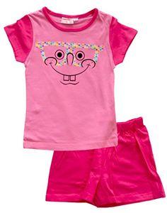 Girls Nick Spongebob Pajamas Set / Pyjamas / Pjs (4 Years Pink) @ niftywarehouse.com #NiftyWarehouse #Spongebob #SpongebobSquarepants #Cartoon #TV #Show