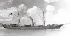 The USS Memphis was purchased by the Union Navy September 4th 1862 from a New York City prize court.