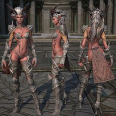 TERA is an MMORPG featuring many sexist and sexualized female characters and costumes. Most female characters wear extremely pornified unreasonable armor. Yet another example of creative world building in everything except the representations of women. #fightingfucktoy #sexualization #malegaze #unreasonablearmor #sexism #pornification