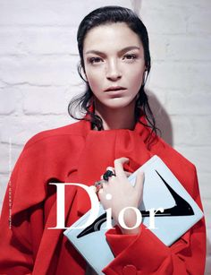 Mariacarla Boscono / Dior F/W 2013, photographed by Willy Vanderperre, styled by Olivier Rizzo.