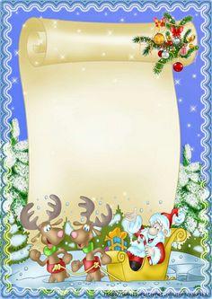 Folio Christmas Boarders, Christmas Frames, Christmas Pictures, Christmas Art, Christmas Decorations, Christmas Letterhead, Christmas Stationery, Free Christmas Printables, Christmas Templates