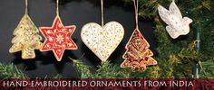 Buy these beautiful ornaments from www.christmaswithaheart.com
