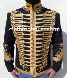 Gothic Coat, Military Costumes, Frock Coat, Gothic Fashion, Tunic, Jackets, Packing, Note