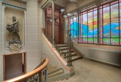 Victor Horta Hotel Tassel | Hotel Tassel ,major Town Houses Of The Architect Victor Horta,brussels ...