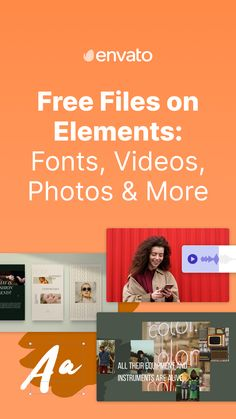 From free fonts and videos to free photos and templates, discover free files on Envato Elements to help inspire your creative projects. We've got monthly freebies (refreshed each month) as well as a large collection of permanently free files –there's plenty to add to your toolkit. Here are some of the best free files available on Envato Elements right now.