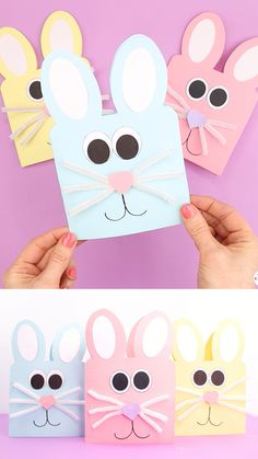 Easter Arts And Crafts, Preschool Arts And Crafts, Fun Crafts For Kids, Easter Crafts For Kids, Art For Kids, Cool Paper Crafts, Art Therapy Activities, Crafty Kids, Toddler Activities