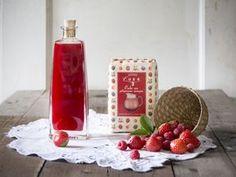 Uchovajte si vône a chute leta v pohároch a fľašiach Fermented Foods, Raspberry, Homemade, Fruit, Med, Syrup, Home Made, Raspberries, Hand Made