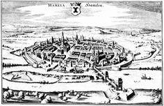 Hameln, Germany - 1640 - Merian