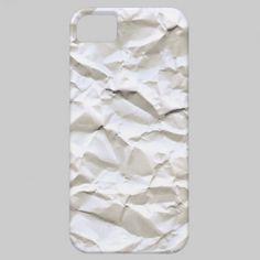 White Trash (crumpled paper texture) iPhone 5 Cases $39.95