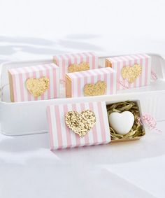 Look at this Heart of Gold Scented Heart Soap - Set of 12 on #zulily today!