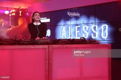 Alesso performs at 2014 The MLB Fan Cave Concert Series at MLB Fan Cave on November 6, 2014 in New York City.