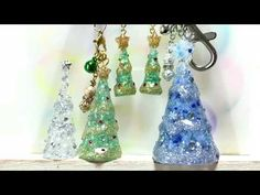 UVレジン雪猫とクリスマスキャットResin how to Christmas Cat and Snow Cat - YouTube