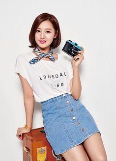 Kim Ji Won for Lonsdale SS 2016