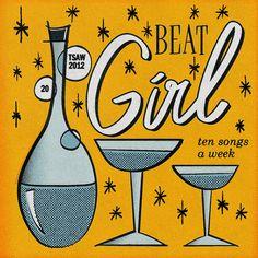 TSAW/2012.20 • Beat Girl by Jean Mosambi, via Flickr