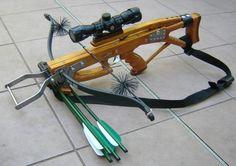 Kompakt nyílpuska távcsővel