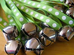 Bell necklaces by mypapercrane, via Flickr