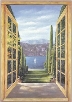 wall mural trompe l'oeil | there are a lot of trompe l oeil images used to illustrate points in ...