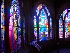 Sleeping Beauty's Stain Glass