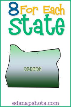US Geography Oregon-books, activities, and videos
