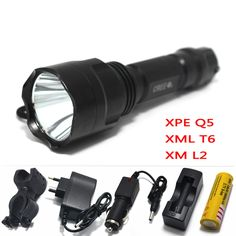 $7.92 (Buy here: https://alitems.com/g/1e8d114494ebda23ff8b16525dc3e8/?i=5&ulp=https%3A%2F%2Fwww.aliexpress.com%2Fitem%2Fpowerful-led-flashlight-Torch-rechargeable-waterproof-tactical-hunting-light-cree-xml-t6-q5-xm-l2-rechargeable%2F32788306412.html ) powerful led flashlight Torch rechargeable waterproof tactical hunting light cree xml t6 q5 xm-l2 rechargeable batteries 18650 for just $7.92