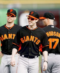 Buster, Timmy, & Huddy...Finally, my guys are back together!! I can't wait until baseball starts!!!!