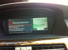 2004-2007 BMW E60 E61 530xi 530d 525d M6 650i M5 645ci navigation monitor screen