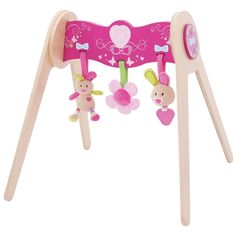 Bella Baby Gym with Soft Plush Toys Wooden Toy Shop, Wooden Baby Toys, Wooden Educational Toys, Baby Gym, Bunny Toys, Teething Toys, Toys Online, Learning Toys, Tk Maxx