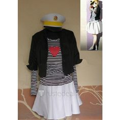 K-On! Kotobuki Tsumugi Black Coat Skirt Cosplay Clothes ❤ liked on Polyvore featuring costumes, cosplay costumes, star costume, cosplay halloween costumes, kotobuki and role play costumes