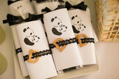 Panda Bear Themed Baby Shower via Kara's Party Ideas KarasPartyIdeas.com Party supplies, tutorials, recipes, printables, cake, banners and more! #panda #pandabear #pandabearparty #genderneutralparty #pandabearbabyshower #karaspartyideas #partyplanning #partydesign (9)