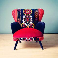Елегантність, стиль і неповторна вишивка об'єдналися в цих неймовірно красивих кріслах  SKRYNYA.UA — Handmade ярмарок України