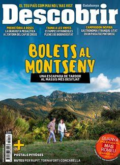 Revista #Descobrir 212. #Bolets al #Montseny. Una escapada de tardor al Massís més desitjat. Rutes per Rupit, Tornafort i Concabella.