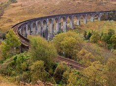 Glenfinnan Viaduct circuit (Walkhighlands)  Harry Potter!!