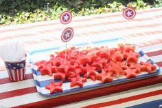Wesley's Captain America Birthday Party!