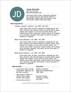 12 more free resume templates - The Best Resume Templates