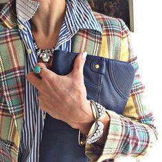 plaid & stripes :: shalice noel's IG