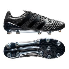 Blackout your game. Adidas have continued their solid black colorway with the Fluid Black Adidas #ACE16 cleats. There has been a large calling for a solid black cleat that Adidas has now met. With the technology to control the game thanks to the 3D webbing and Boost Stud Pattern, these boots will be able to erase any light from the opposition. Check this boots out for yourself today at www.soccercorner.com!
