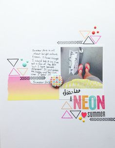 Neon Summer by JenRitchie at @Abbey Adique-Alarcon Adique-Alarcon Adique-Alarcon Phillips Mounier Calico