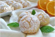 Mis Kokulu Portakallı Çatlak Kurabiye (Çok Hafif) Tarifi