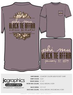 Phi Mu Black Tie Affair @ Mississippi State University