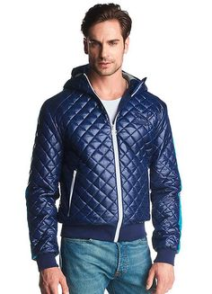 b32696a5999d98 Puma Quilted Jacket - This fashionable jacket by Puma has a distinctive  quilted material that is