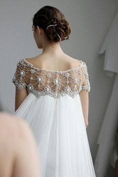 wedding gown Marchesa, Spring 2013 From Colin Cowie Weddings Wedding Robe, Wedding Gowns, Wedding Dresses With Cape, Wedding Cape Veil, Elven Wedding Dress, Art Deco Wedding Dress, Lace Wedding, Spring Wedding, Wedding Hair