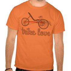Show your love for the 3 wheelers with this trike design.