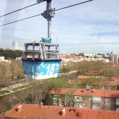 One alternative way of seeing Madrid, is by taking the #cable car. From Madrid's Pintor Rosales, in the #Parque del Oeste, you will be able to catch the cable car (teleférico in Spanish) out to Madrid's huge #Casa de Campo, a massive park which goes on for kilometres, stretching out towards the east of the city.