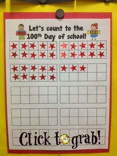 EASY and Meaningful Way to Record 100 Days of School | #tenframes #100days