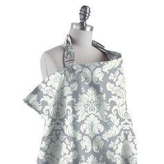 Target baby feeding breastfeeding nursing covers  BeBe Au Lait Nursing Cover - Chateau Silver  $22.19